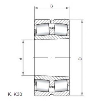 Bantalan 22264 KW33 ISO